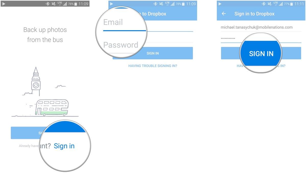 Как сделать резервную копию смартфона на Android – Dropbox (2)
