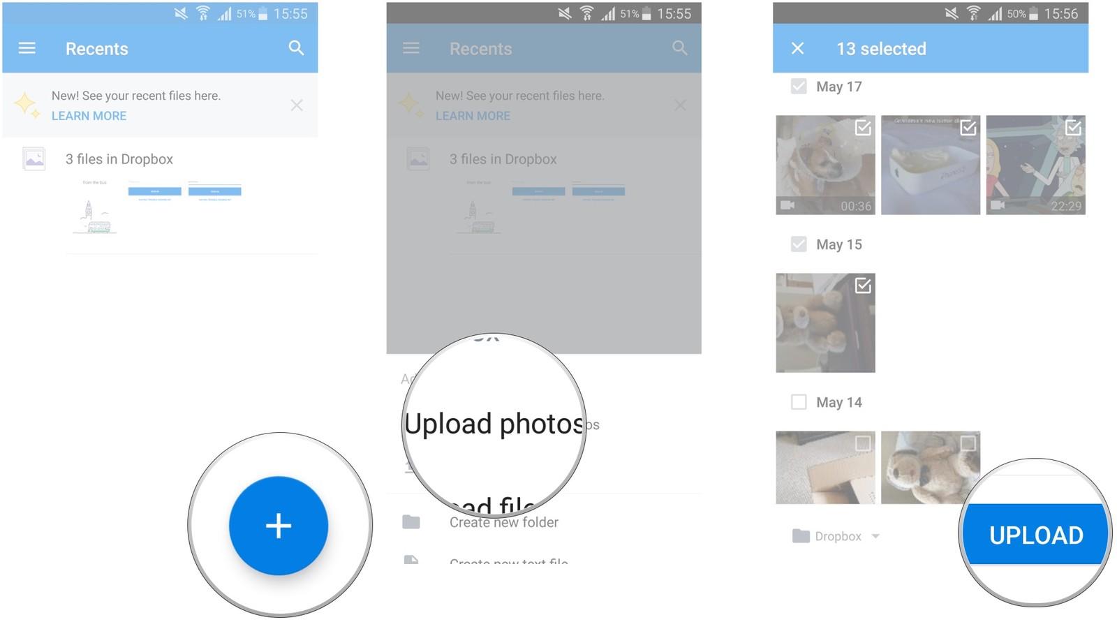 Как сделать резервную копию смартфона на Android – Dropbox (3)