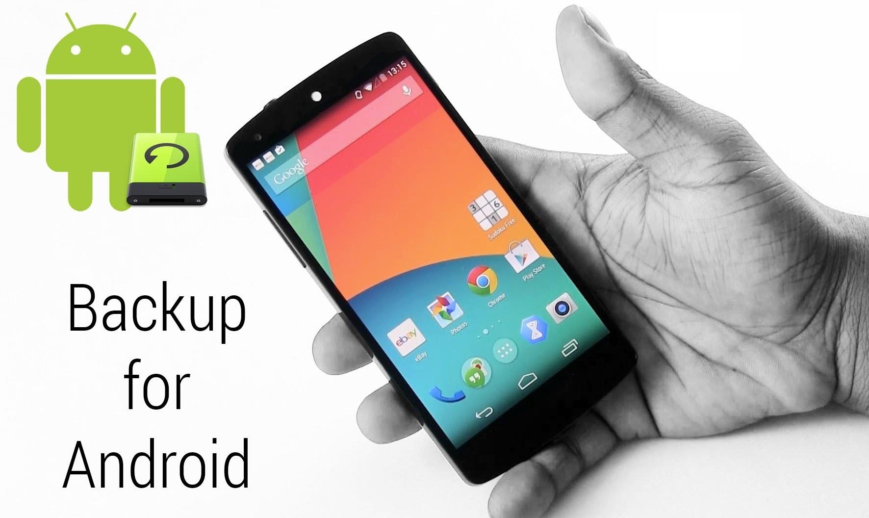 Как сделать резервную копию смартфона на Android - главное фото