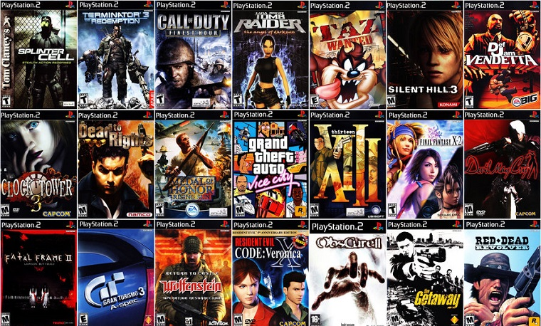Как выбрать игровую приставку - playstation 2 игры