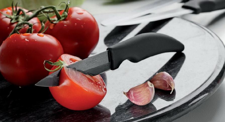 Керамические ножи- 3 В работе