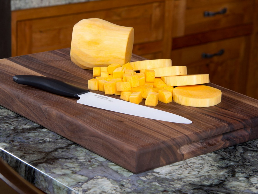 Керамические ножи-Нарезка овощей