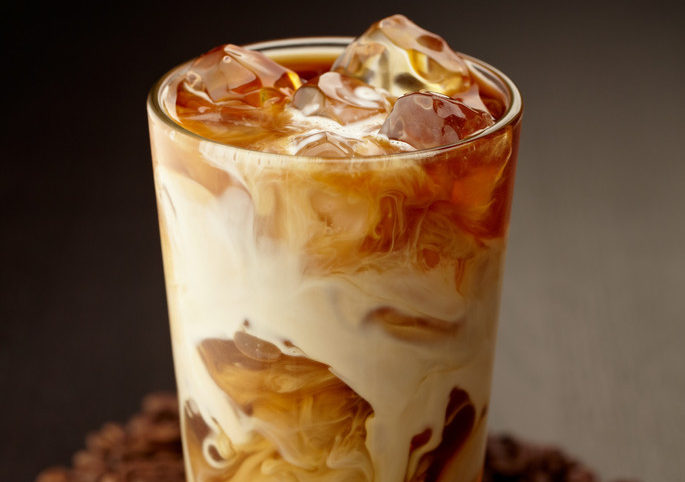 Кофе с молоком-легкий вкус