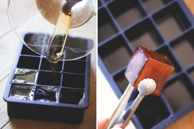 Кофейные кубики-как сделать