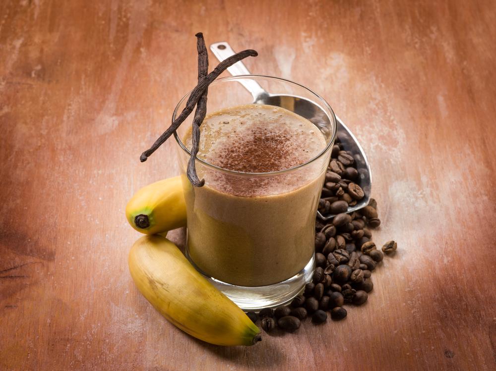 Кофейный смузи-вариант подачи фото 2