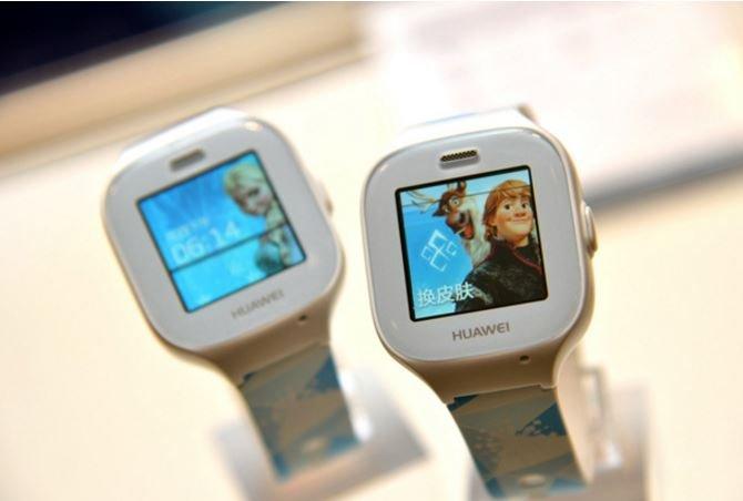 Компания Huawei создала смарт-часы для детей с GPS - фото 1