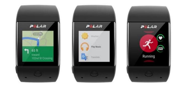 Компания Polar представила гибрид фитнес-трекера и смарт-часов M600 - главное фото