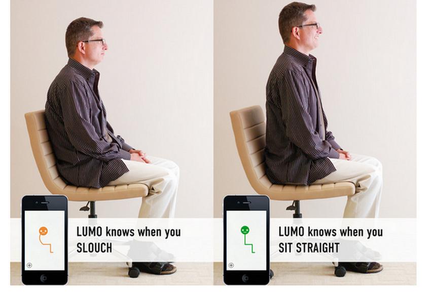 Lumoback-гаджет для правильной осанки фото 3