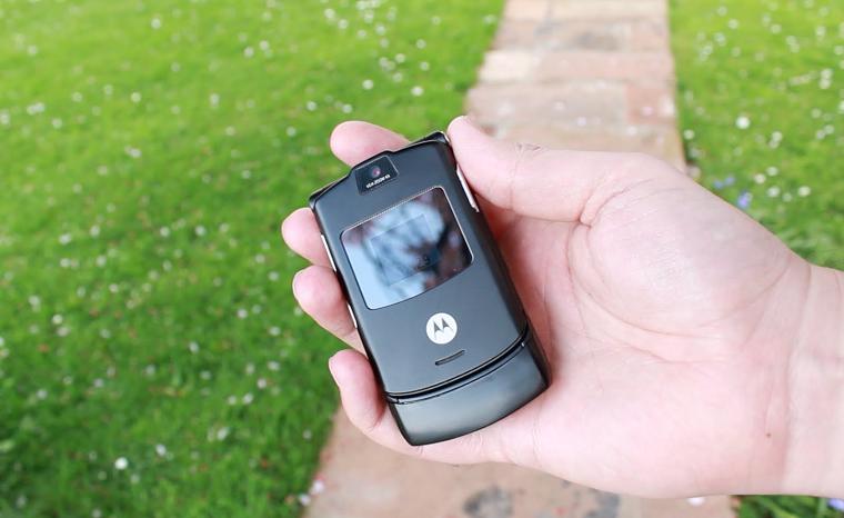 Motorola RAZR V3 стал одним из самых успешных телефонов всех времен