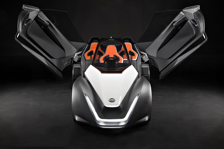 Nissan BladeGlider. электромобиль с уникальной конструкцией - фото 2