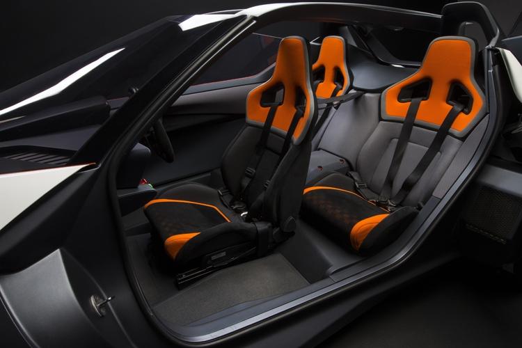 Nissan BladeGlider. электромобиль с уникальной конструкцией - фото 6