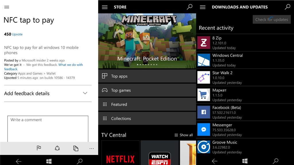Нововведения в юбилейном обновлении Windows 10 Mobile - Приложения
