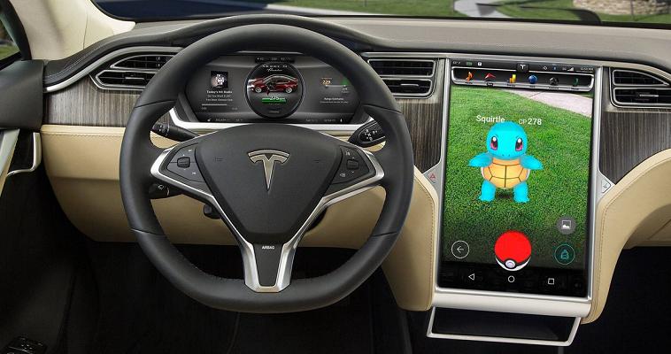 Pokemon GO-Tesla Model S