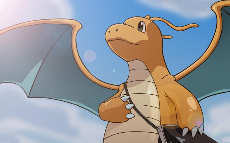 Pokemon Go-Dragonite