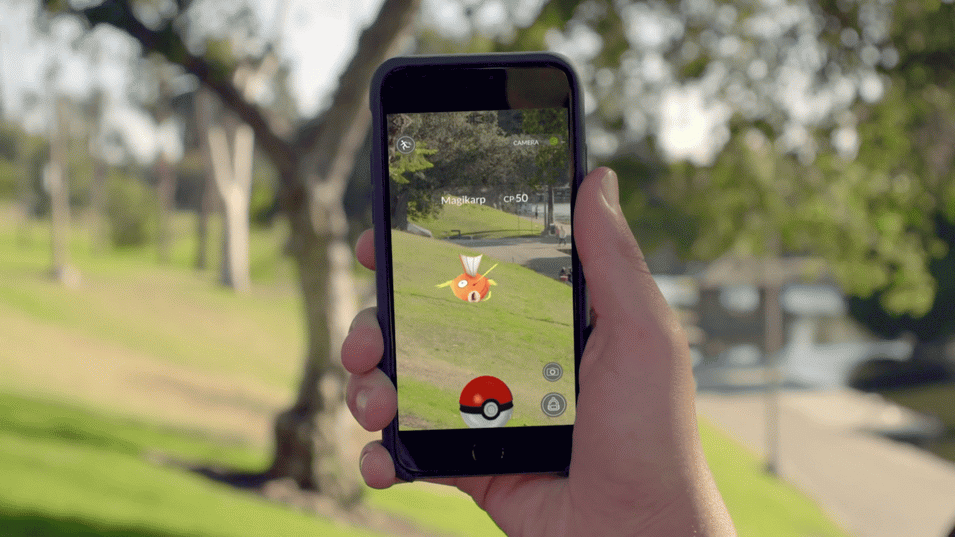 Pokemon Go-Увлекательная игра