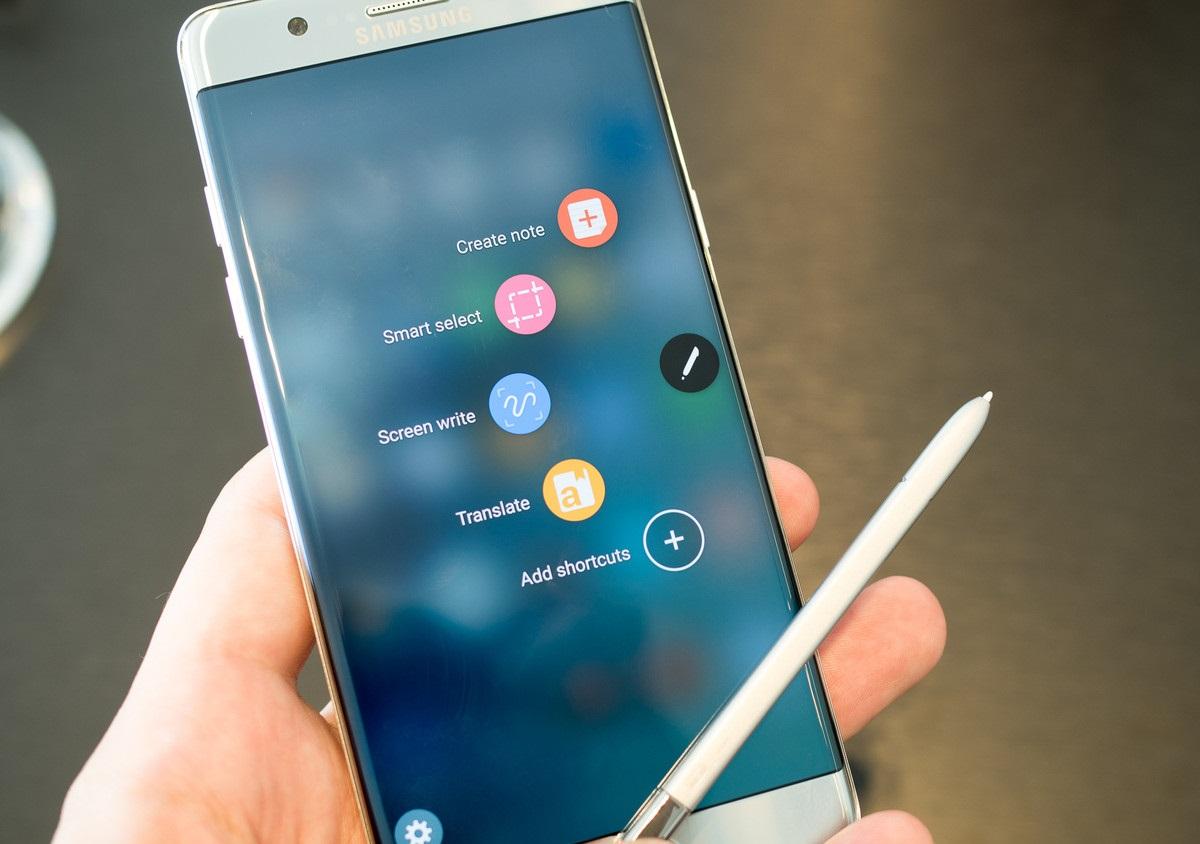 Предварительный обзор Samsung Galaxy Note 7 - S Pen
