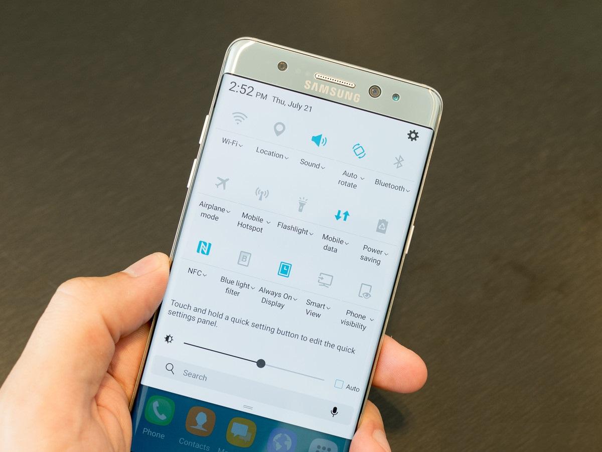 Предварительный обзор Samsung Galaxy Note 7 - программное обеспечение
