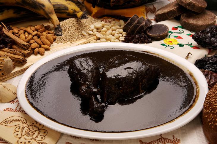 Шоколад и мясо-вариант подачи