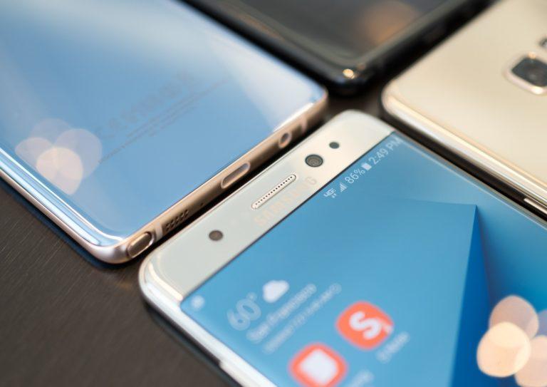 Samsung Galaxy Note 7-экран