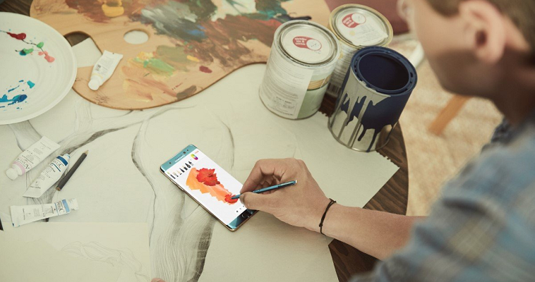 Samsung Galaxy Note 7-возможности творческой самореализации