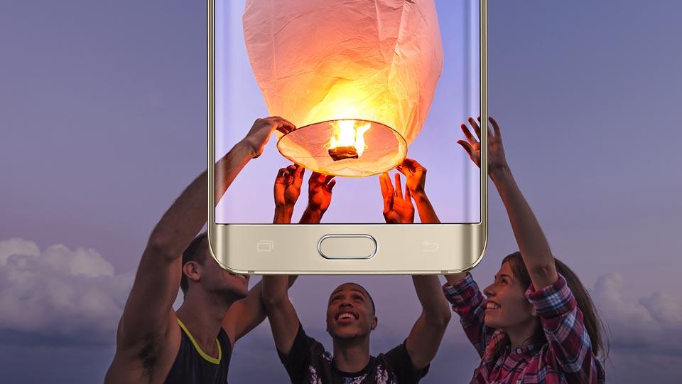 Samsung Galaxy S6 Edge Plus-фотовозможности