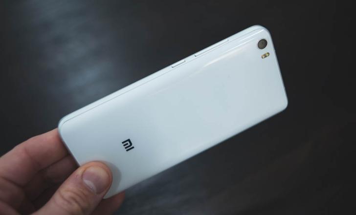 Xiaomi Mi5-3 Функциональные элементы Правая грань