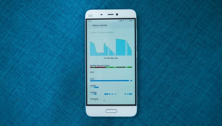 Xiaomi Mi5- Автономная работа