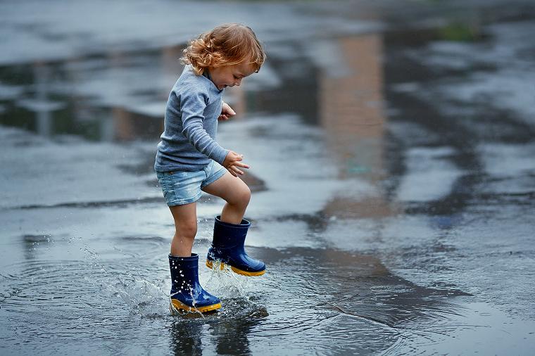 апка «Фото», Скоро осень — поговорим о сушилках для обуви – по лужам.