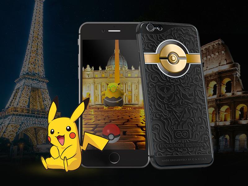 iPhone 6s Caviar Pokemon Go Edition-Смартфон для любителей покемонов