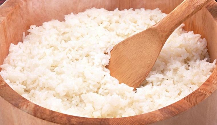 рис остывает