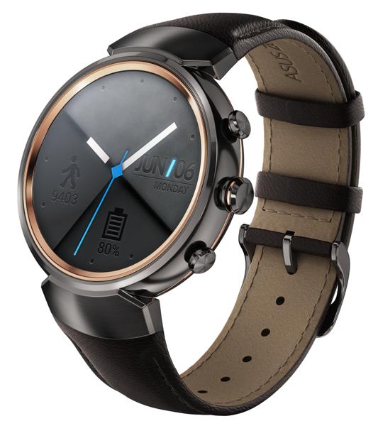 ASUS ZenWatch 3-новые SMART-часы фото 3 цвет оружейный металл