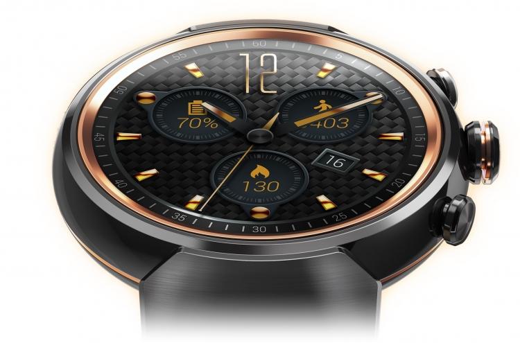 ASUS ZenWatch 3-новые SMART-часы крупный план