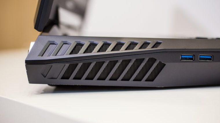 Acer Predator 21X-конструкция и эргономика