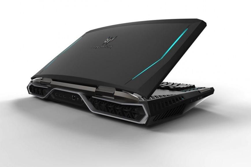 Acer Predator 21X-корпус и эргономика