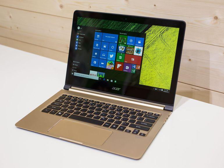 Acer Swift 7-экран