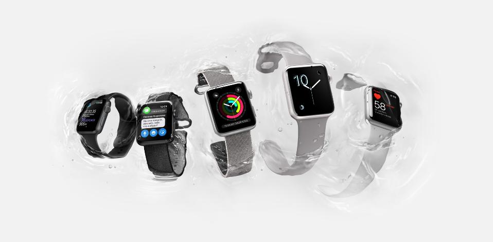 Apple Watch Series 2-новое поколение SMART-часов