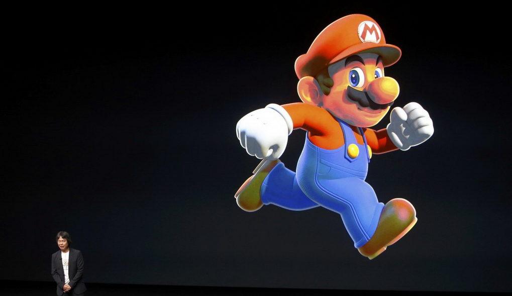 Apple-и Super Mario