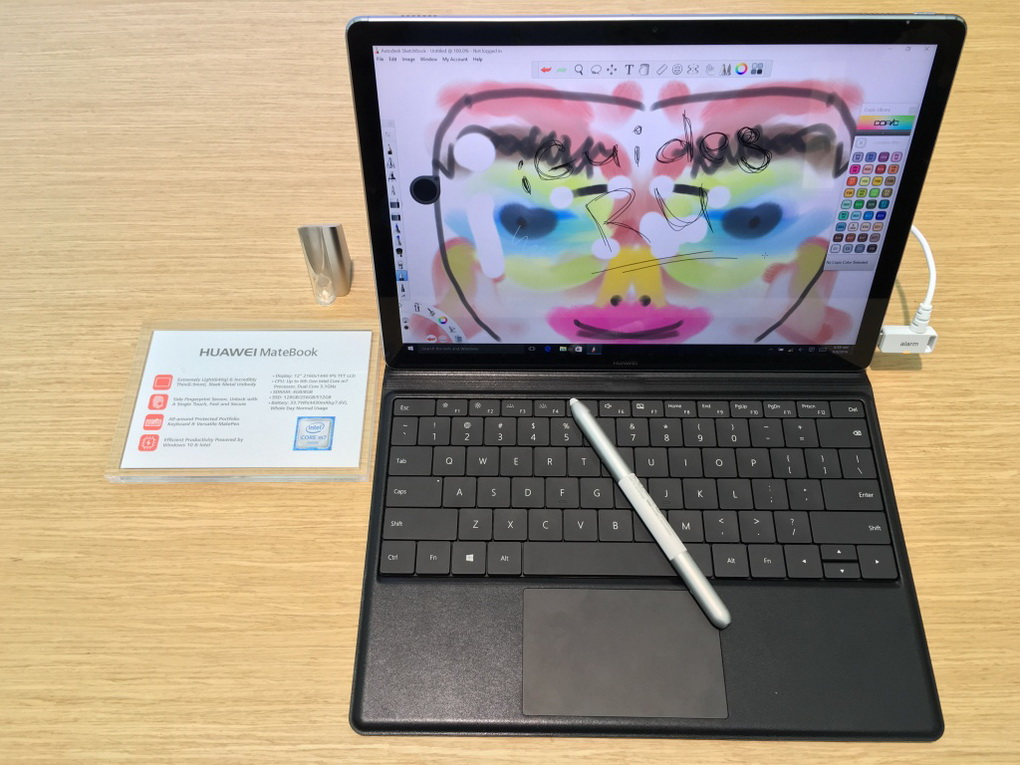 Huawei MateBook-общий вид