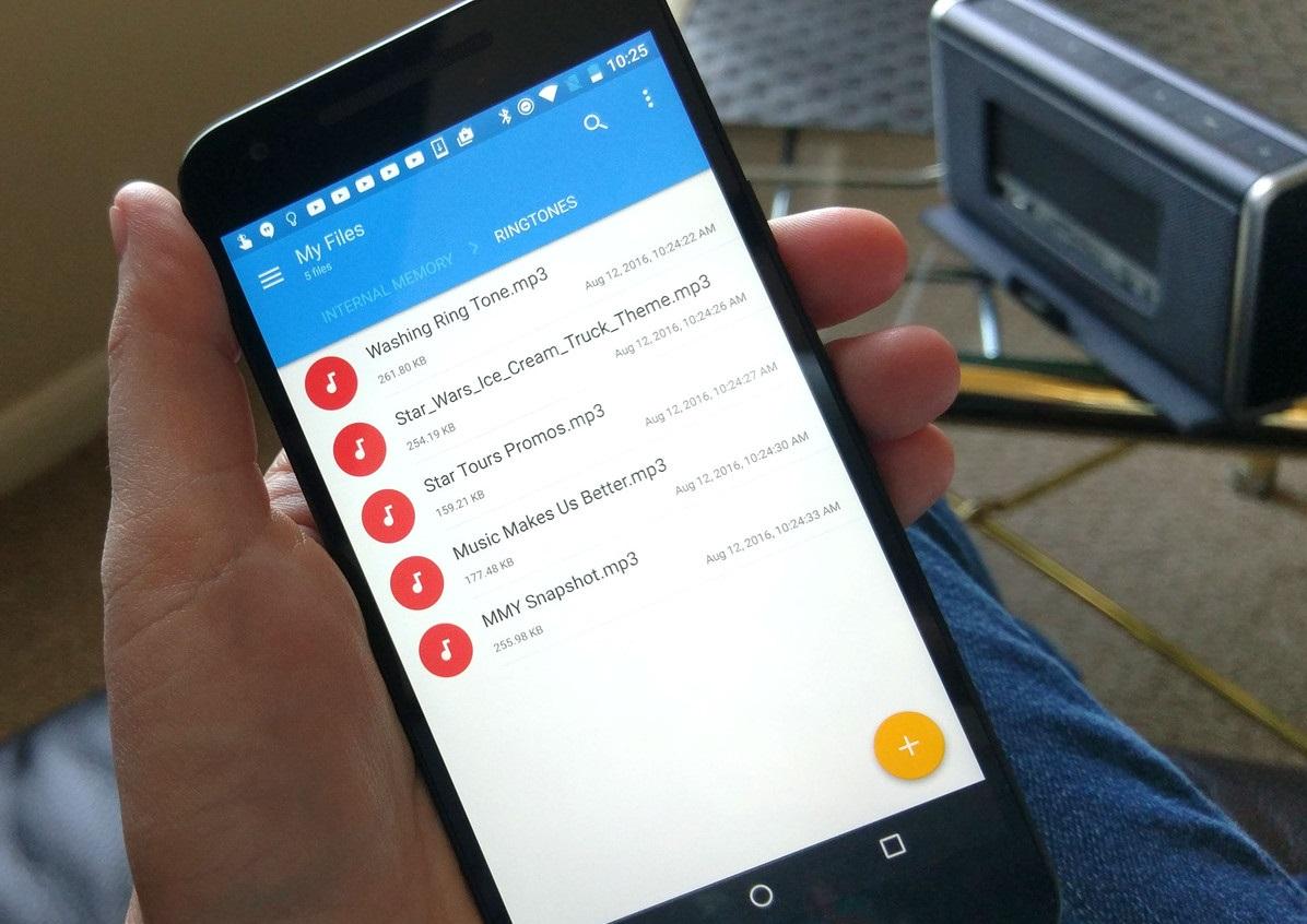 Как добавить пользовательские мелодии в Android - добавление мелодий в файловую систему