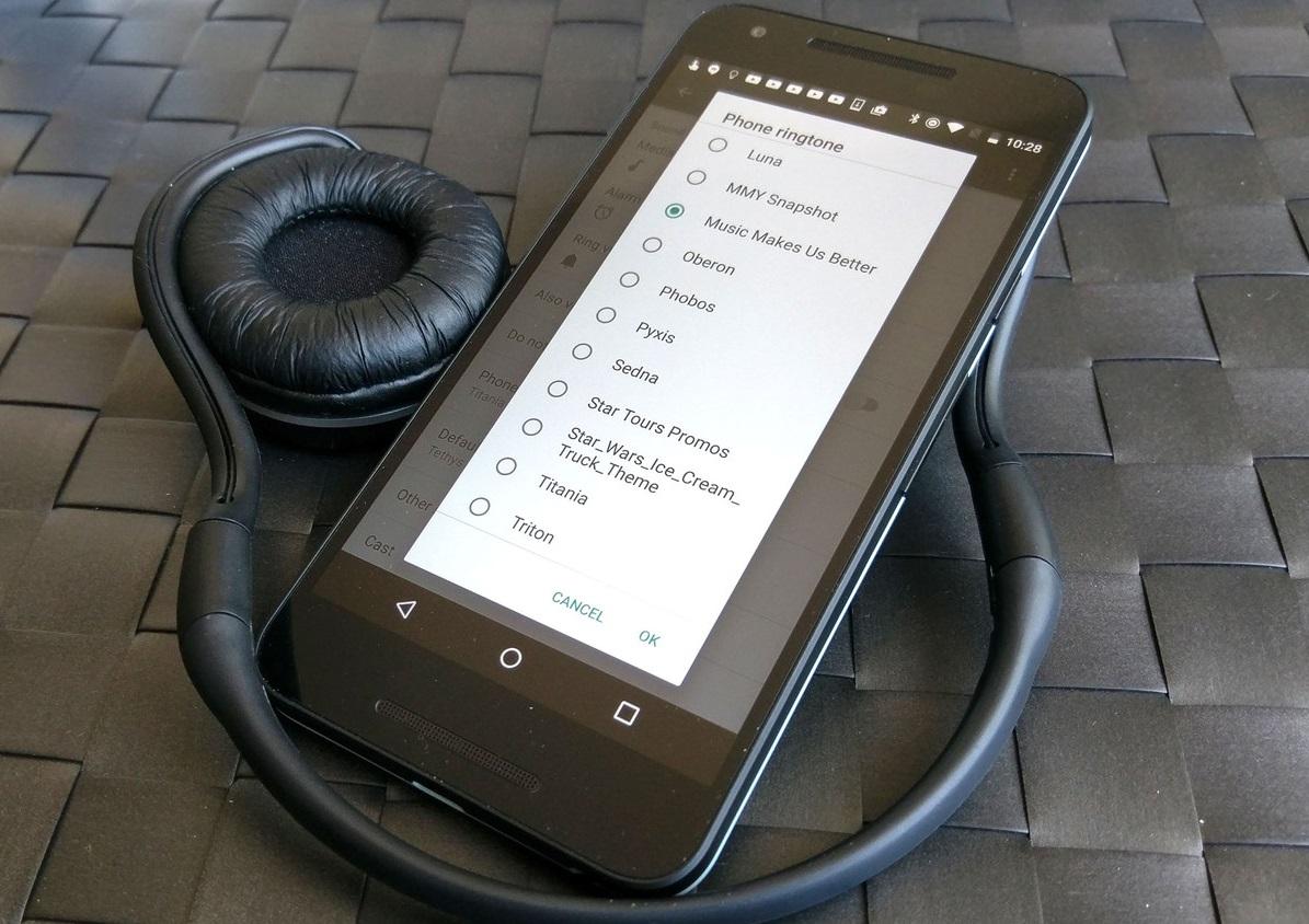 Как добавить пользовательские мелодии в Android - как настроить новую мелодию