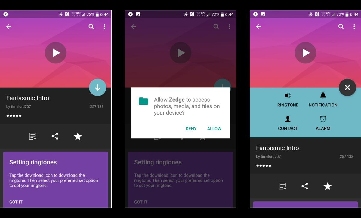 Как добавить пользовательские мелодии в Android - поиск мелодии (2)