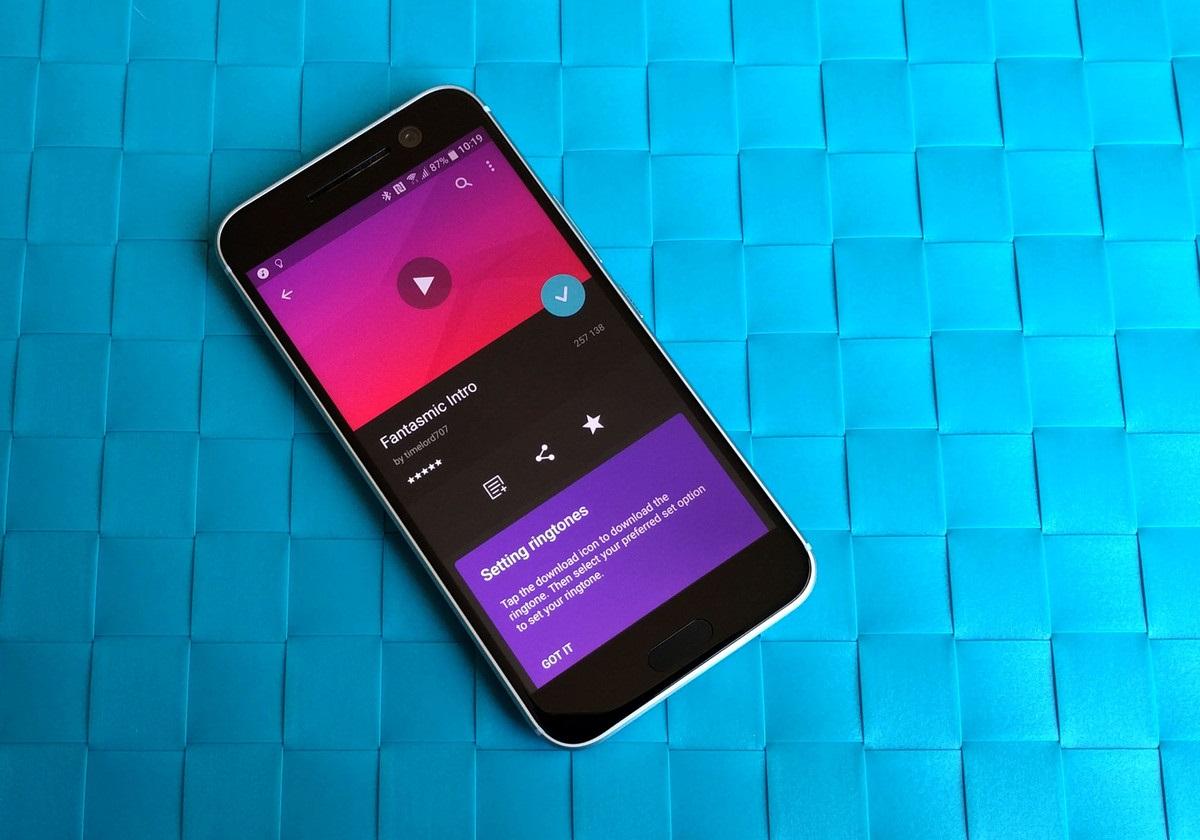 Как добавить пользовательские мелодии в Android - поиск мелодии
