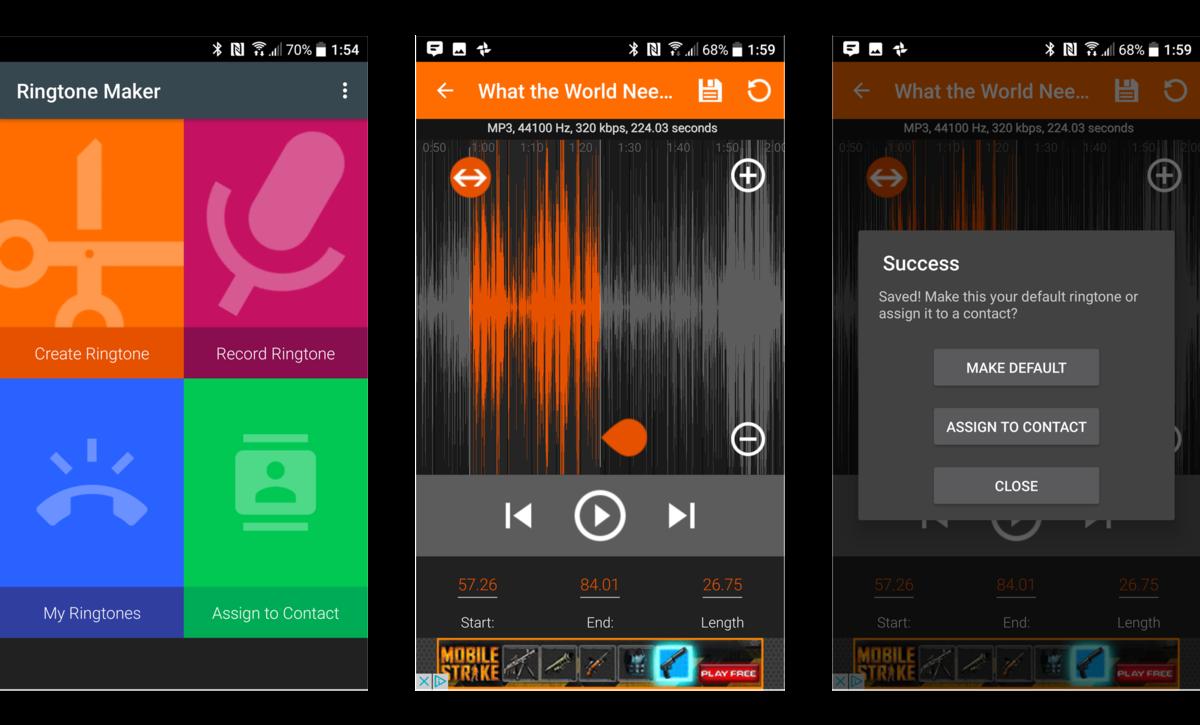 Как добавить пользовательские мелодии в Android - создание собственной мелодии
