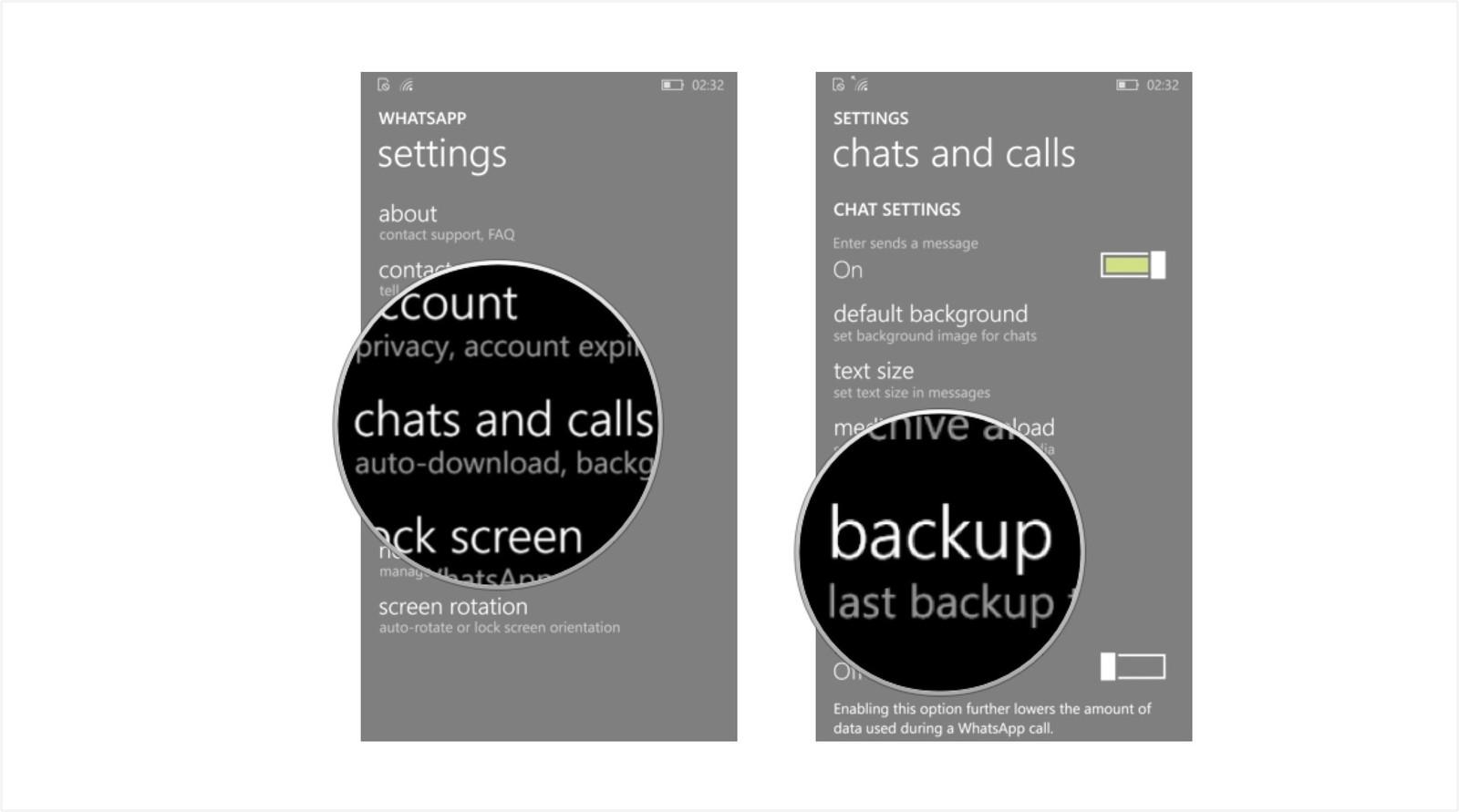 Как сохранить переписку и создать резервную копию в WhatsApp – резервная копия (2)