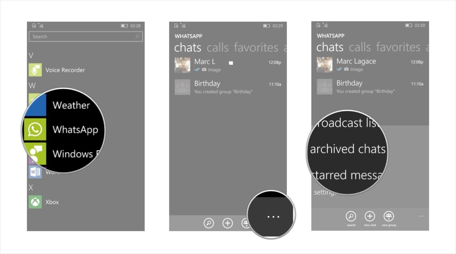 Как сохранить переписку и создать резервную копию в WhatsApp - разархивировать чат