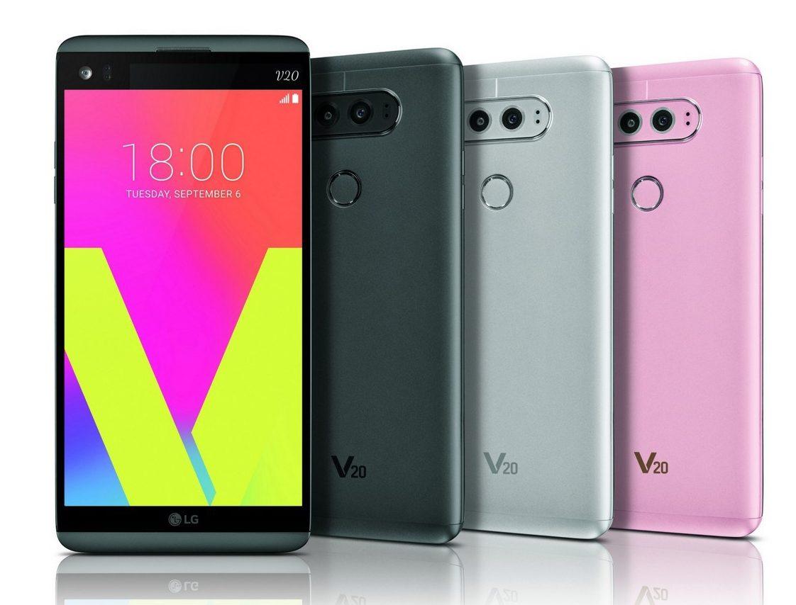 LG V20 стал первым смартфоном с операционной системой Android 7.0 Nougat - главное фото