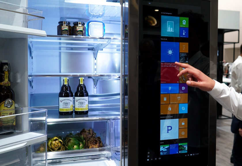 LG-smart-холодильник на Windows 10