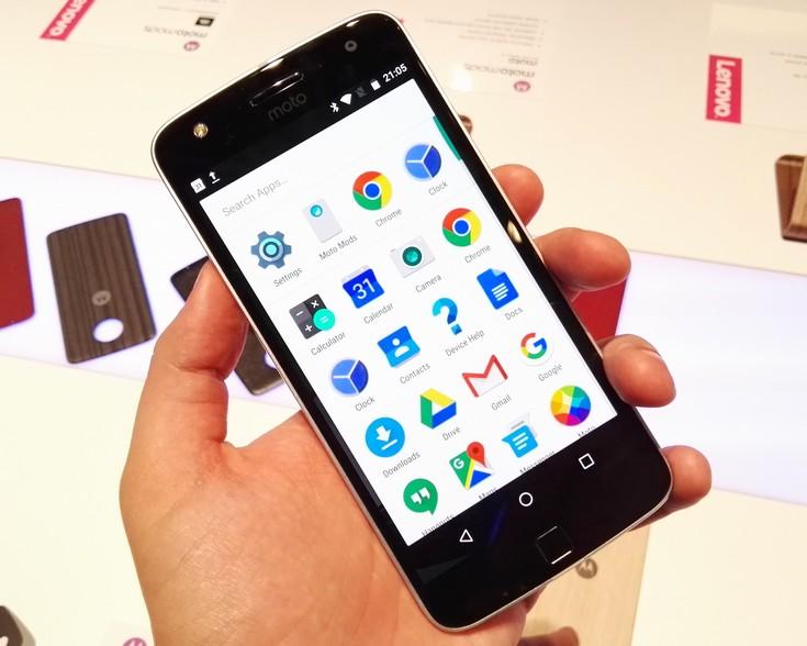 фото Moto Z Play-новинка