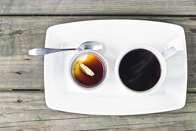 Мягкий кофе-вариант подачи