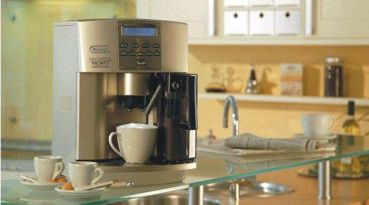 Разбираемся в брендах_кофемашины и кофеварки - кофемашина delonghi на кухне